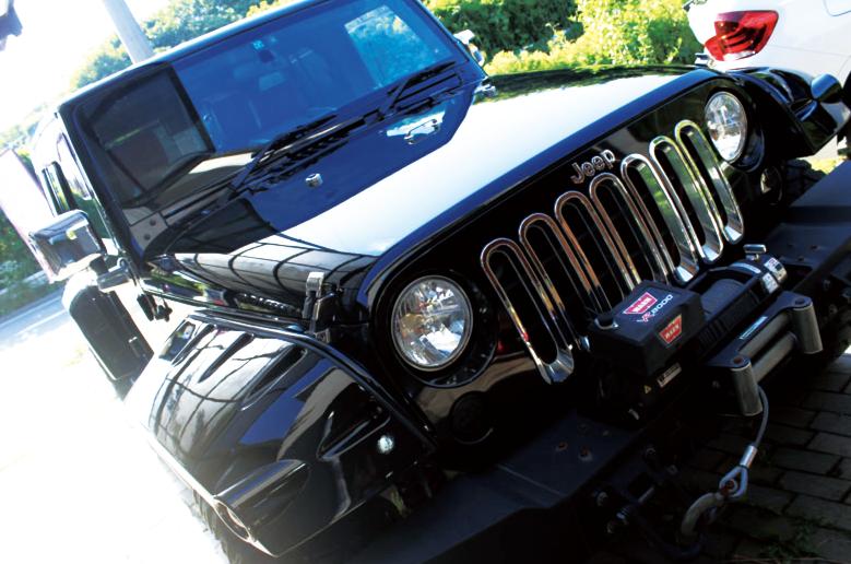 【新着】Jeep ラングラー(ウィンドウガラスコート)